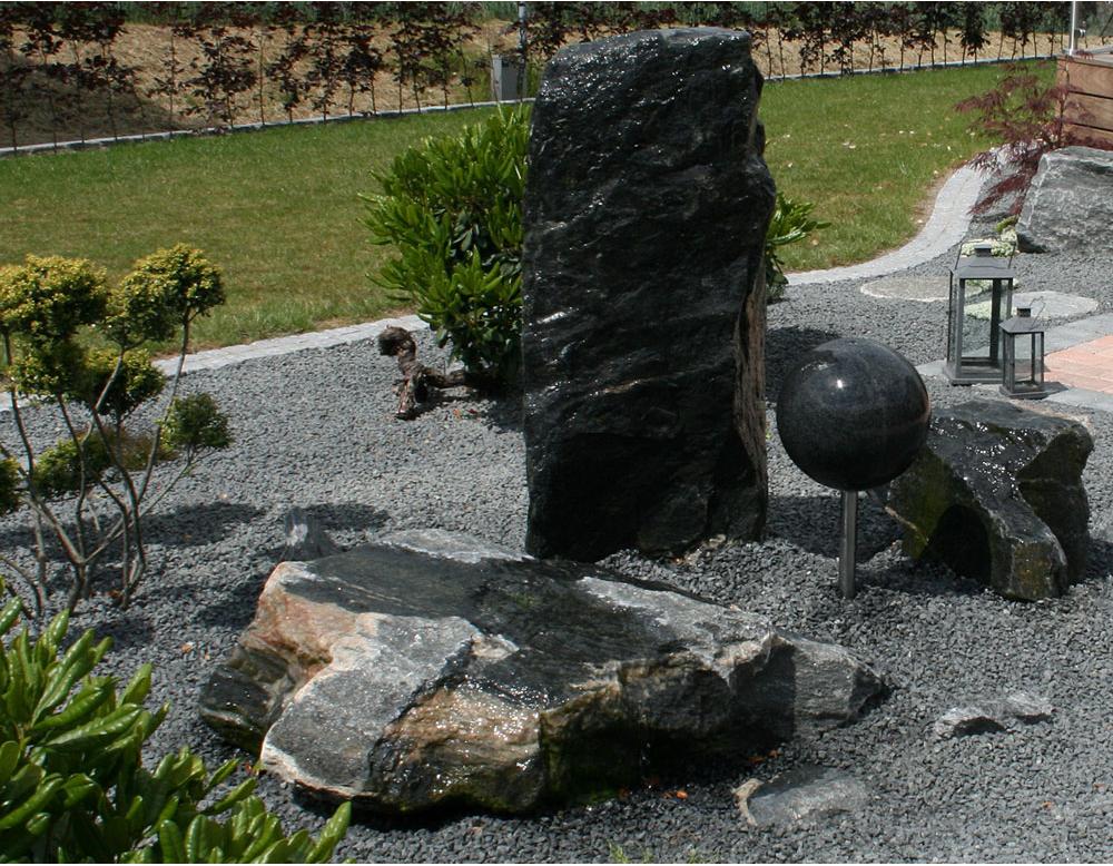 Skift staudebeddet ud med granit